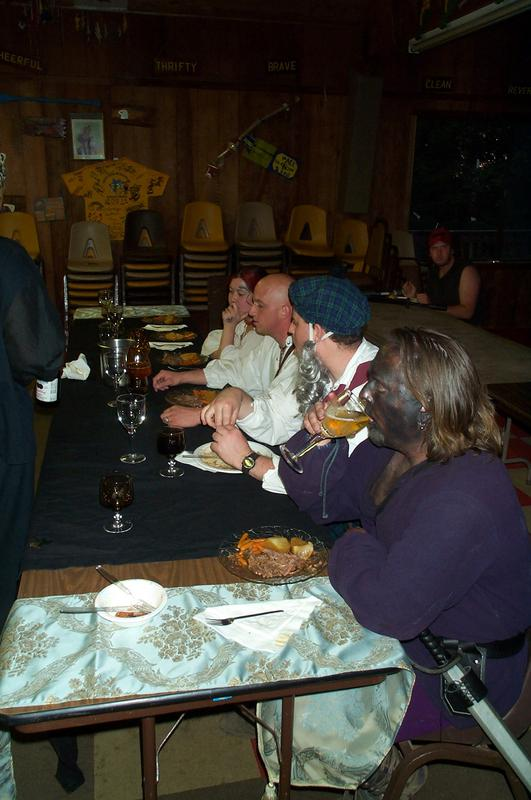 The noble table, with guests