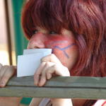 Kyla seems excited